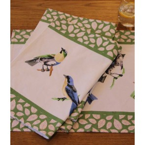 AVIARY Set of 4 Placemat by MM Linen