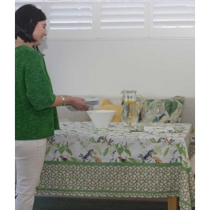 AVIARY Table Cloth by MM Linen