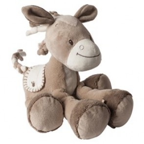 Max, Noa & Tom Collection - Cuddly Noa The Horse by Nattou