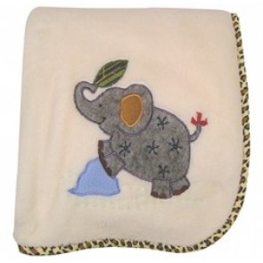 Zoofari Blanket by Lambs N Ivy