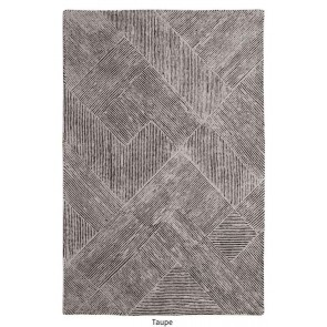 Balta Taupe Hand Tufted Rug by Rug Republic