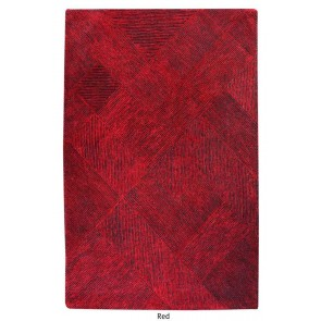 Balta Red Hand Tufted Rug by Rug Republic