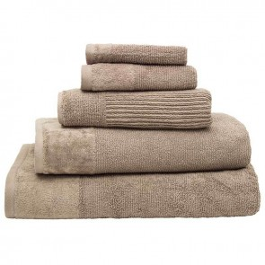 Costa Cotton Stone Bath Mat by Bambury