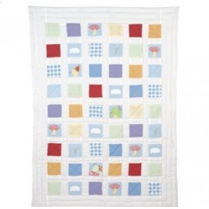 Pond Quilted Throw by Babyhood