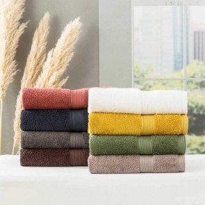 Stella 650 GSM Super Soft Bamboo Cotton Face Towel by Renee Taylor