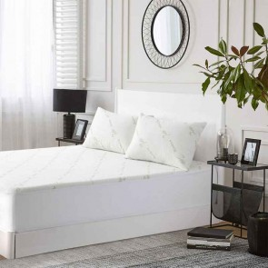 Bamboo Knitted Mattress Protector