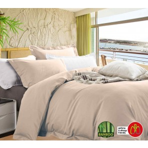 400 Thread Count Bamboo Quilt Cover Set by Ramesses
