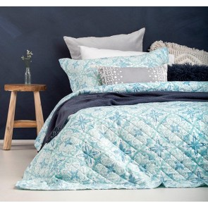 Embossed Abigail Coverlet Set by Bambury