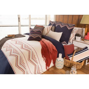 Campbell Quilt Cover Set by Bambury