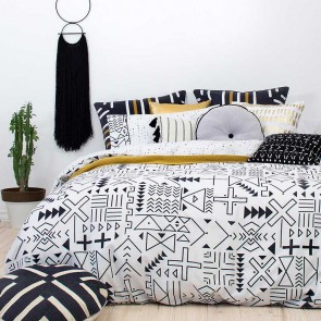Farah Quilt Cover Set by Bambury