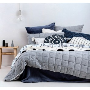 Fletcher Quilt Cover Set by Bambury