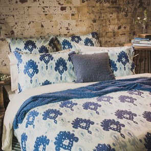 Lavinia Queen Quilt Cover Set by Bambury