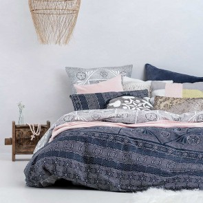 Prelude Double Quilt Cover Set by Bambury