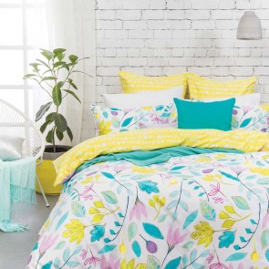 Rosalyn Quilt Cover Set by Bambury