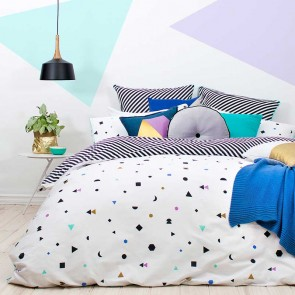 Tilo Quilt Cover Set by Bambury