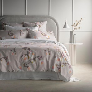 Barling Lilac Snow Quilt Cover Set by Sheridan