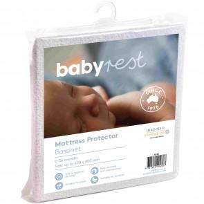 Bassinet/Cradle Mattress Protector by Babyrest