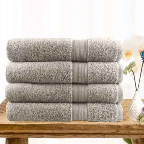 4 Piece Ultra-Light Cotton Bath Towels