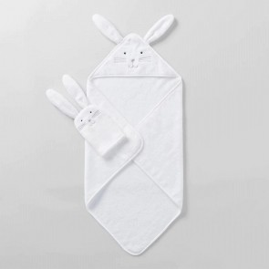 Baxtar Baby Towel & Mitt Set by Sheridan