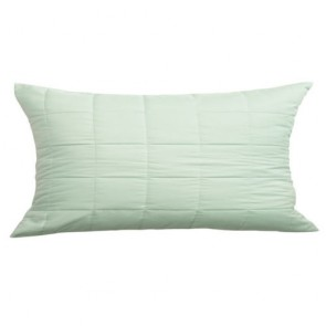 Bay Green Cushion by Bianca