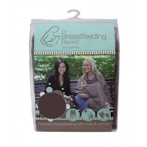 Breastfeeding Blanket Cotton Latte by Roger Armstrong