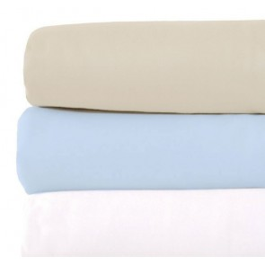 Chateau Polyester and Cotton Single Flat Sheet Set