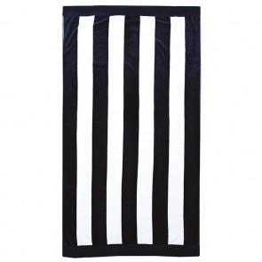Stripe Beach Towel - Navy by Bambury