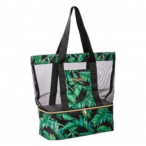 Beach Cooler Bag Zanzibar Black by Escape to Paradise