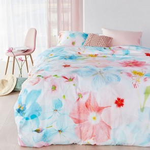 Patagonia Multi Cotton Sateen Quilt Cover Set by Bedding House