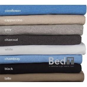 Bed T Charcoal King Sheet Set by Bambury