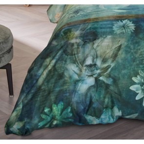 Nymph Blue Green Quilt Cover Set by BeddingHouse