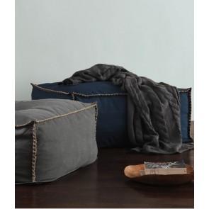 Biba Bean Bag Blue by MM Linen