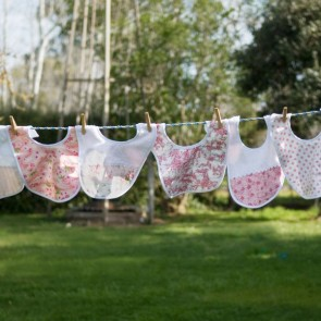 Bibs by Lullaby Linen