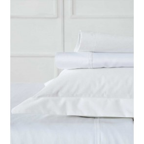 Blake King White Sheet Set by MM Linen