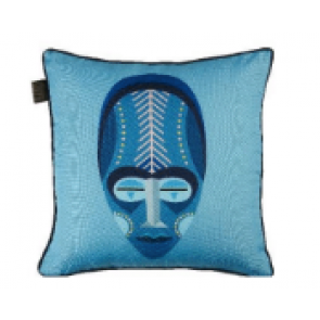 Mascarade Blue Cushions by BeddingHouse