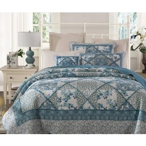 Blue Banquet Bedpsread by Classic Quilts