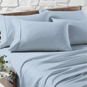 Blue Fog 1200TC Premium Cotton Blend Sheet Sets by Ddecor Home