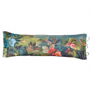 Blue Jambo Flower Beauty Purse Pip Studio