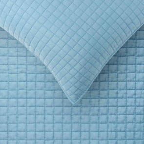 Blue Zane Queen Coverlet Set by Accessorize
