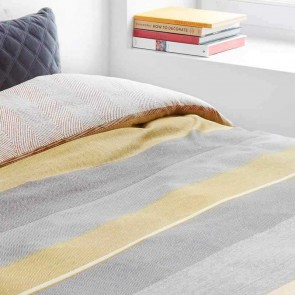 Bodhi Yellow Quilt Cover Set by Bedding House