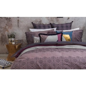 Bohemia Queen Quilt Cover Set by Bambury