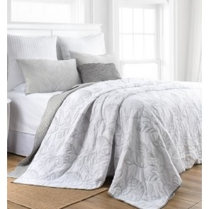 Botanical Leaves Bedspread by Classic Quilts