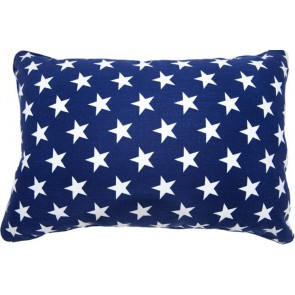 Brighton Blue Star Breakfast Cushion by Lullaby Linen