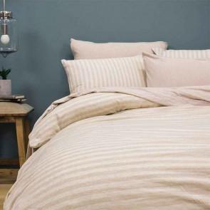 Natural Stripe BedT Quilt Cover Set