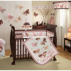 Butterfly Dreams 6 Piece Bedding Set by Lambs N Ivy