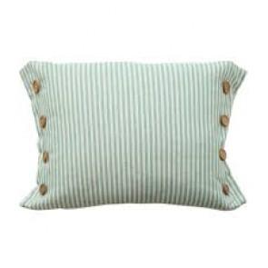 Button Stripe Cushion by MM Linen