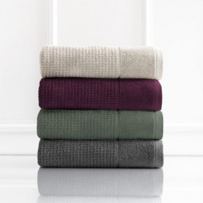 Cambridge 650 GSM Textured Face Towels by Renee Taylor