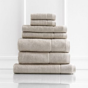 Cambridge 650 GSM Textured Bath Towels by Renee Taylor