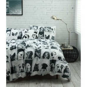 Canine King Single Quilt Cover Set by MM linen