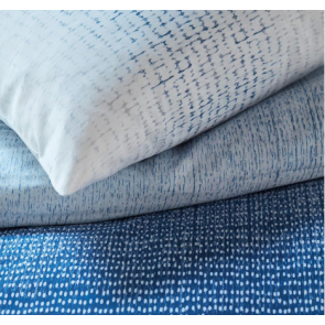 Blue Graphic Disorder Quilt Cover Set by Bedding House